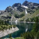 Lago di Troba e Pizzo Trona
